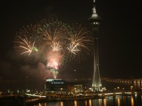 MLE Pyrotechnics firing in Macau